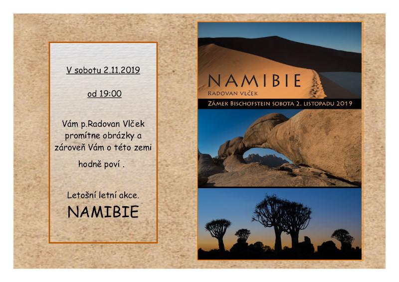 Obrázky a povídání o Namibii
